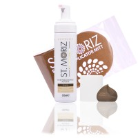 St. Moriz Mousse Dark 200 ml & Original-Applikator